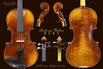 STV-600型号 曹氏仿古小提琴纯手工制作 专业琴