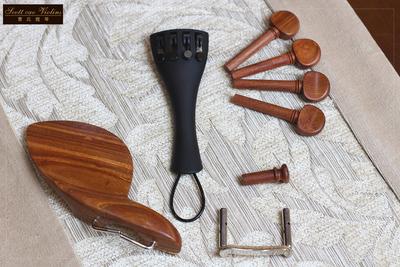曹氏提琴酸枝木小提琴配件